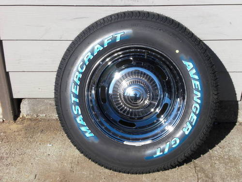 chevy rally & tire set | turnkey auto